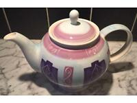 Small Whittard of Chelsea Hand Painted TeaPot