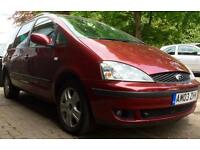 SPARES OR REPAIRS 7 SEATER AUTOMATIC FORD GALAXY 16V GHIA 145 BHP 104000 MILES 12 MONTHS MOT