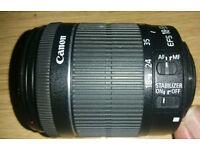 Canon EF-S 18-55mm f/3.5-5.6 DC IS STM Lens
