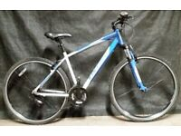CARRERA CROSSFIRE fast mountain bike 19'' fat hybrid bicycle with suspension