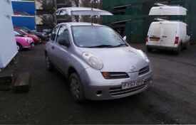 BREAKING NISSAN MICRA MOST PARTS AVAILABLE FITTING SERVICE WITH 12 MONTH WARRANTY