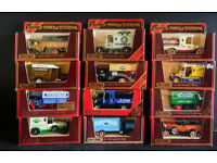 MATCHBOX MODELS OF YESTERYEAR - BOXED AND NOT PLAYED WITH