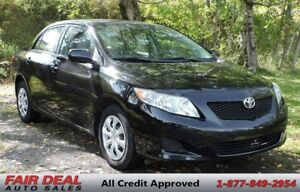 2009 Toyota Corolla CE: Air Conditioning/Cruise Control/Fuel Sav