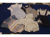 BABY BOYS CLOTHES FROM SMOKE FREE HOME