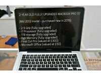 "MACBOOK PRO 13"" Fully Upgraded 2.9GHz / 1TB / 8GBmemory / i7processor (Great Condition)."