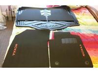 Vauxhall mokka genuine mats with boot liner