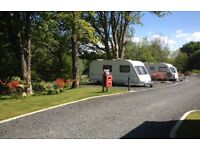 Seasonal Touring Pitch available from June 2017 - March 2018 in South Ayrshire near Galloway Forest