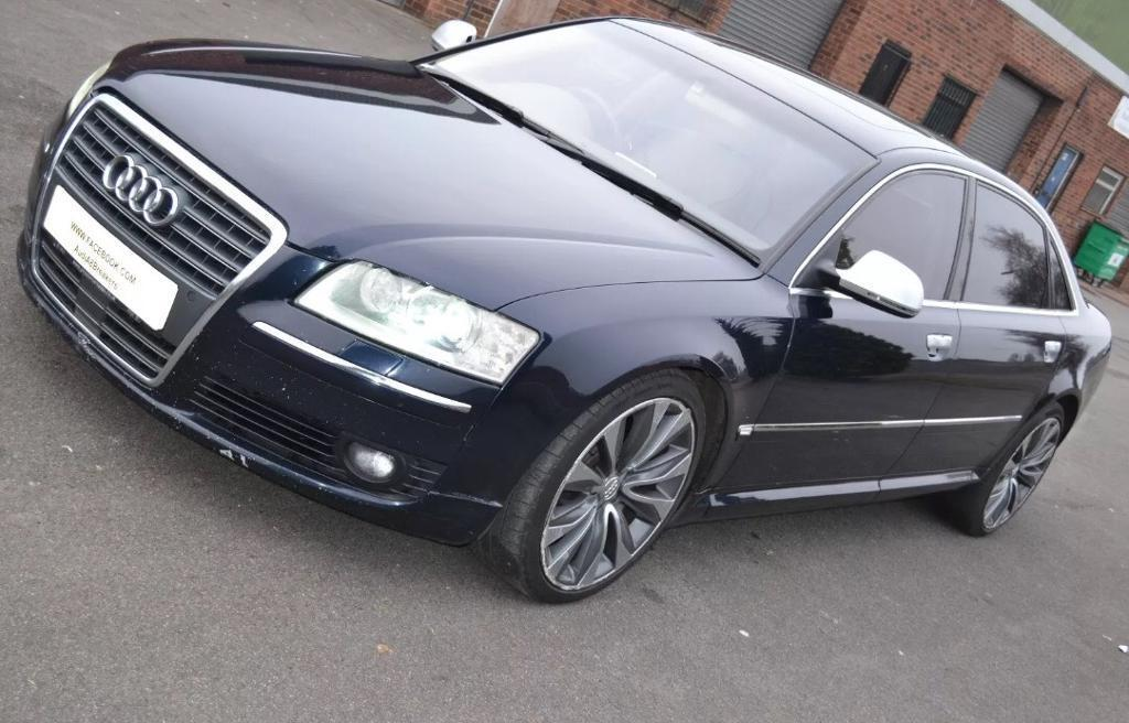 Audi A8 D3 6 0 Petrol W12 Breaking For Parts