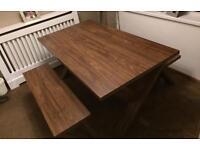 Next Dining Table With Benches