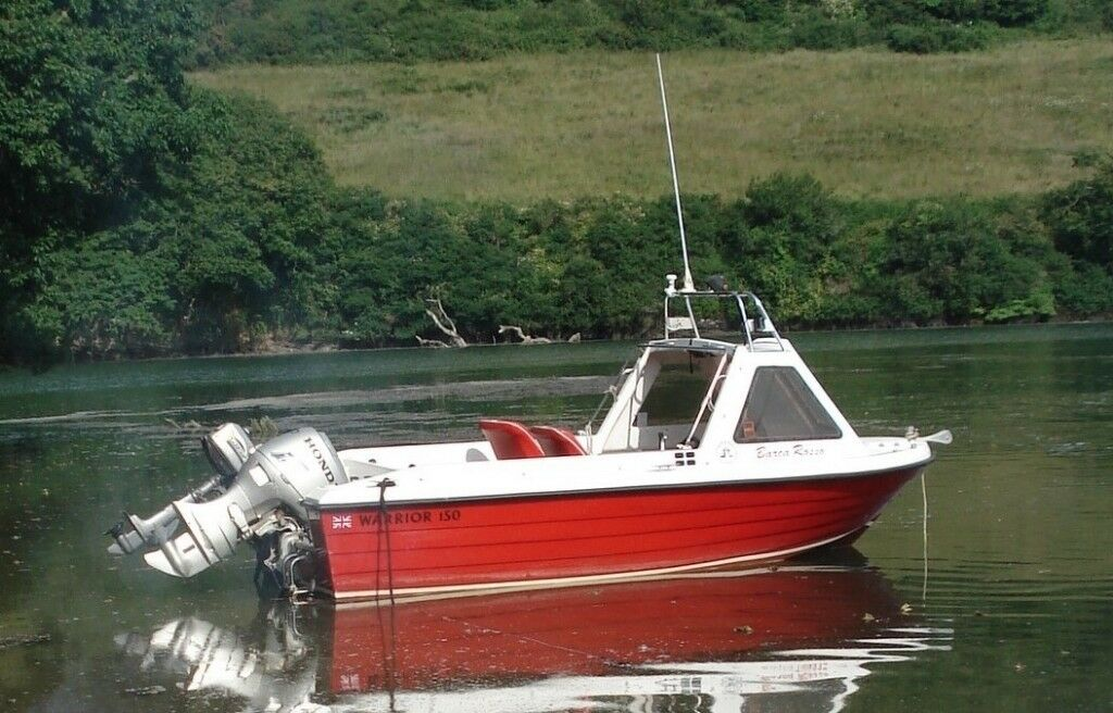Warrior 150 Fast Fisher with 50hp Honda Outboard | in Falmouth, Cornwall |  Gumtree