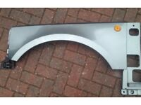 Range Rover L322 Front Wing in green Left Side 2002-2005