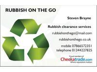 RUBBISH CLEARANCE WASTE REMOVAL JUNK PICK UP