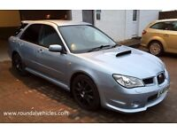 2007 Subaru WRX 2.5 Turbo 4x4 estate , BEAUTIFUL Sky Blue met Full Hist, 12 mths mot refurbed alloys