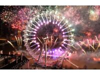 New Year's Eve London fireworks tickets