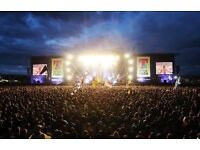 2 x T in the Park Friday -Sunday weekend camping tickets