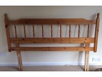 FREE TO A GOOD HOME. King size bed base and headboard