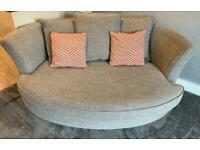 Cuddle Sofa DFS 50% OFF RRP