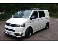 Volkswagen Transporter Kombi Van 2.5 Diesel 174 hp. Full Franchise service history and MOT.