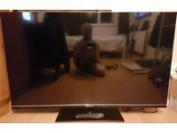55 Inch LED Qantec TV With Original Remote & Stand (PLEASE READ)