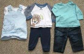 37fdcf7eb Mamas and papas pack of 6 bodysuit. Size 6-9 months | in Preston ...