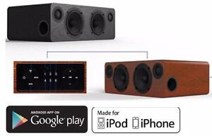 Smart WIFI HD Stereo Speaker featuring Apple AirPlay, DLNA