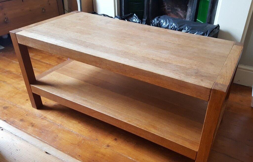 Solid Oak Laura Ashley Brompton Coffee Table
