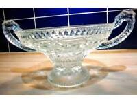 Vintage Cut glass Fruit Dish