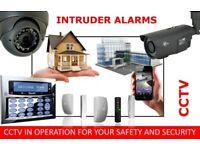 Professional Intruder alarm, CCTV, Access control installation. Maintenance. Service.