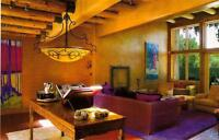 Mexican inspired interior design & decorative painting