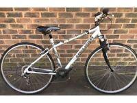 17 inch Helium Crosstrack aluminium Hybrid bike city cycle bicycle