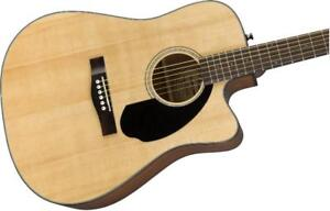CD-60SCE, Natural *neuve  0961704021  Fender acoustique  CD60