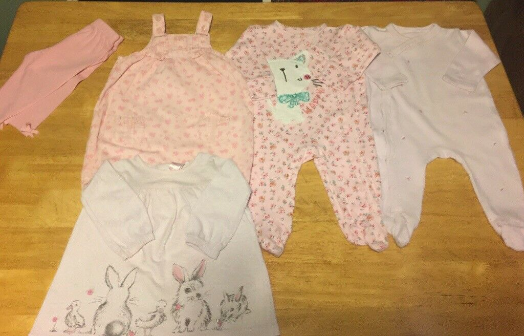 Matalan Baby Girl Bundle 0-3 Clothes, Shoes & Accessories