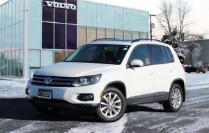 2014 Volkswagen Tiguan COMFORTLINE | AWD | HEATED LEATHER | S...
