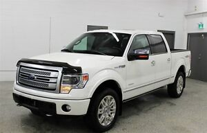 2013 Ford F-150 Platinum - Tax paid, Accident free, Fully loaded