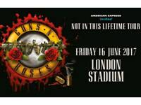 Guns and roses tickets London Friday 16th June