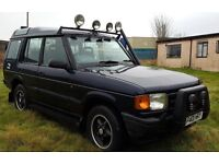 Land Rover Discovery 300tdi 7 seater off road ready