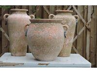 Terracotta Greek Style Vases