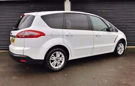 2013 FORD S-MAX ZETEC 1.6 TDCI 7 SEATER NOT GALAXY QASHQAI+2 VW TOURAN SEAT ALHAMBRA ZAFIRA KUGA