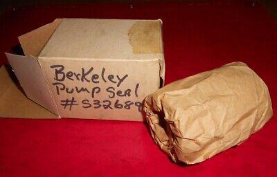 Nos Oem Berkeley Pump Seal S32689  Fits Several Of Berkeley Pumps