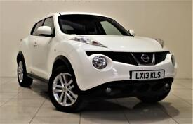 NISSAN JUKE 1.6 TEKNA DIG-T 5d AUTO 190 BHP (white) 2013