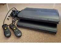 2 Virgin TiVo boxes (500GB & 1TB) for sale