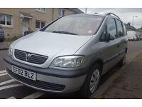Vauxhal Zafira Automatic 7 Seater