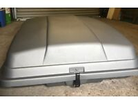 Roofbox with Roof Bars
