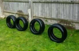 Goodyear snow tyres 195/50r15