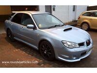 2007 Subaru WRX 2.5 Turbo 4x4 estate , BEAUTIFUL Sky Blue met Full Hist, 12 mths mot refurbed alloys