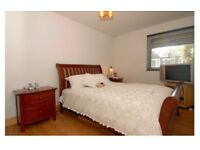 King Size Bed, Mattress and 2 Bedside Table