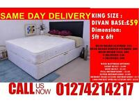 wow amazing offer single double king size divan bedding leather