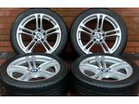 "BMW 5 Series 18"" M Sport 613M Genuine Staggered Alloy Wheels 5x120 F10/F11"