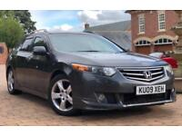 2009 09 Plate Honda Accord Estate 2.2 i DTEC ES GT Top of the range Sat Nav Reversing Camera FSH