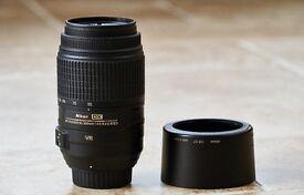 Nikon 55-300mm VR Lens